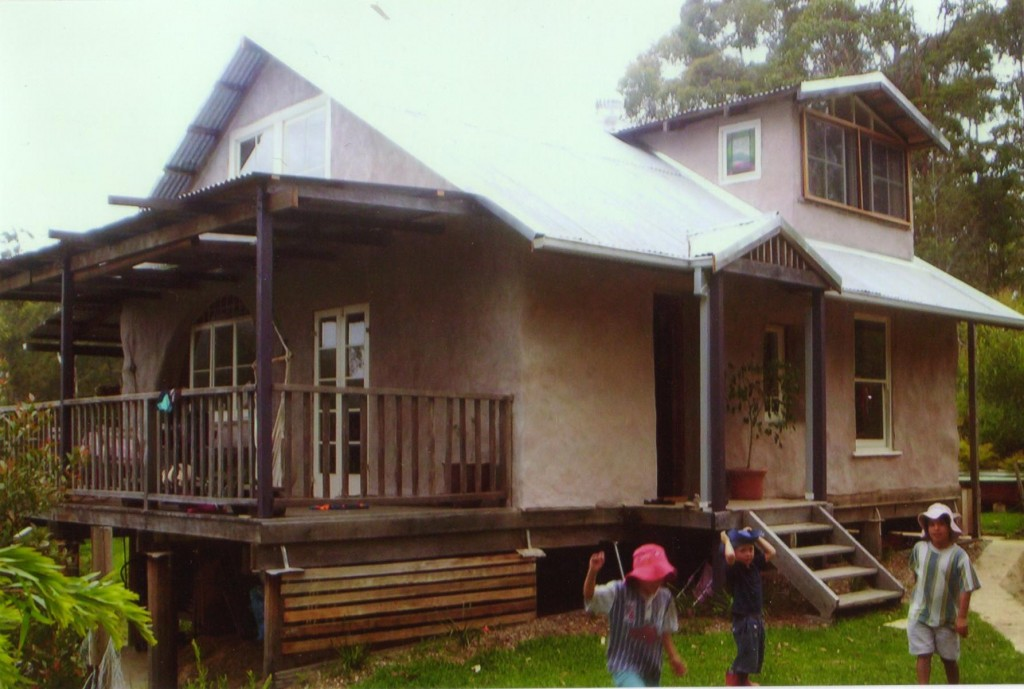 owner built strawbale house