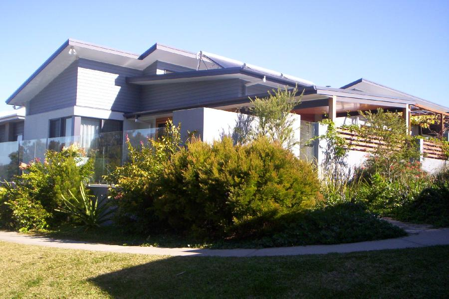 native garden display home (subcontracted to design studio 22)