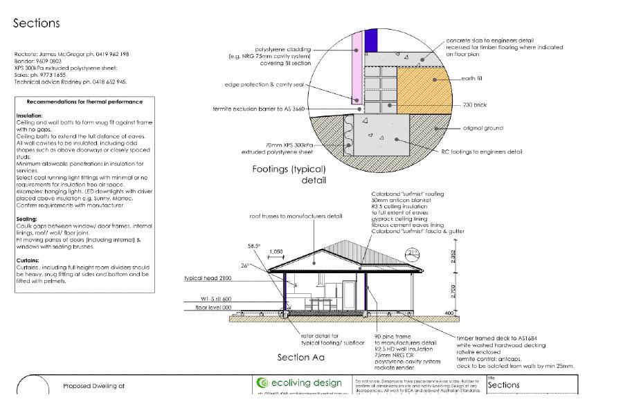passive solar at Leeton section