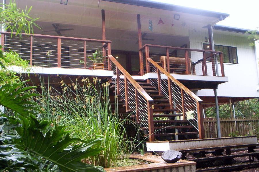 Indoors Out Modern Queenslander Brisbane Ecoliving Design